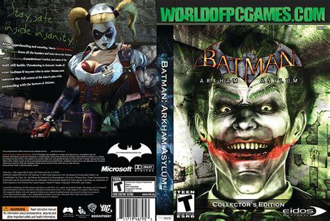 Batman Arkham World batman arkham asylum free goty