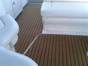 searay sundancer teak black carpet prestige marine