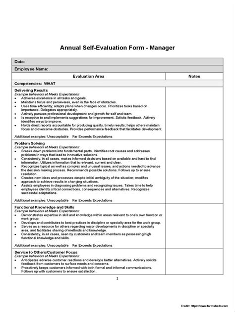 sle of self evaluation salesperson self evaluation form form resume exles rmgyok5yg9