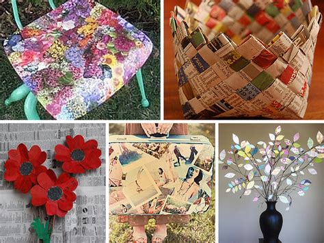 diy recycled paper crafts image collections craft