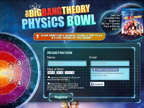 Big Bang Theory Sweepstakes - the big bang theory season 5 he sweepstakes