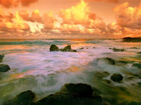 beautiful picture beautiful pic of nature landscape red coast the golden
