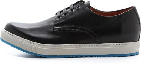 marc white sole shoes in black for lyst
