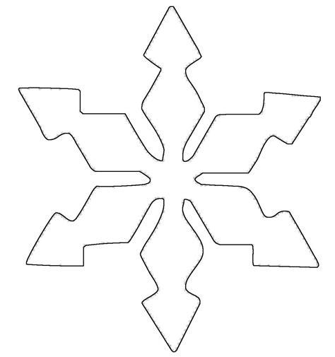 Kostenlose Vorlage Schneeflocke Kostenlose Malvorlage Schneeflocken Und Sterne Schneeflocke 6 Zum Ausmalen