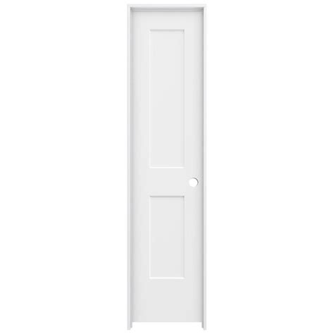 20 Interior Door Jeld Wen 20 In X 80 In Primed Left Smooth Solid Molded Composite Mdf Single