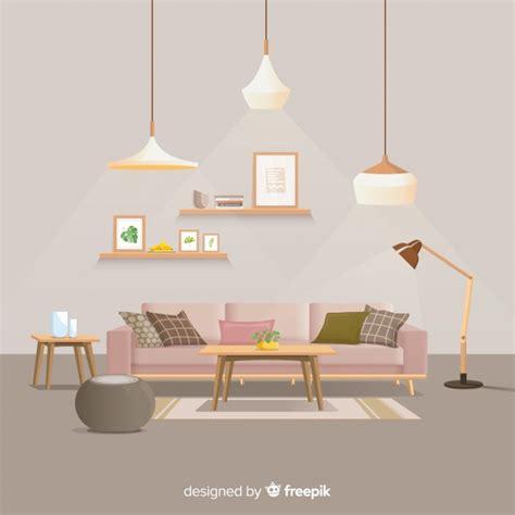 arredamento casa moderna foto cool arredamento casa moderna con design piatto vettore