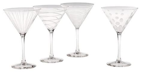 martini glasses cheers mikasa cheers martini glass 10 ounce set of 4 import