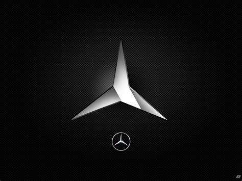 mercedes logo black background mercedes logo wallpaper wallpapersafari