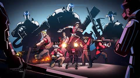 tf2 machine mann vs machine aka our team fortress 2 by