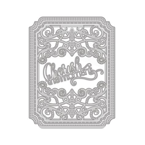 Tonic Square tonic studios cutting die sew pretty cherish the