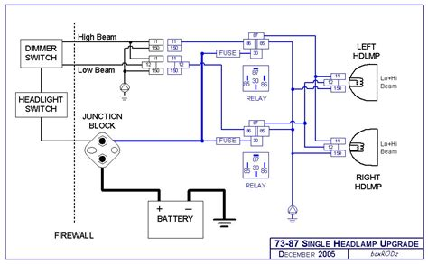 wiring diagram headlight wiring diagram tutorial
