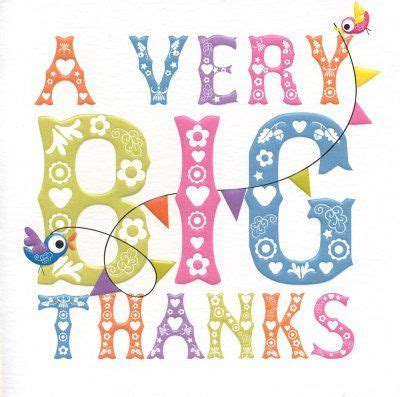 A Great Big Thankyou by 188 Best Thank You Images On Thank You So Much