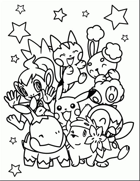 pokemon coloring pages vanillish best of cute pokemon coloring pages design printable