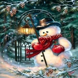 christmas snowman wallpaper   forwallpaper