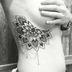 mandala tattoo rib cage under boob tattoo love the quot lace quot look tatts cute sh