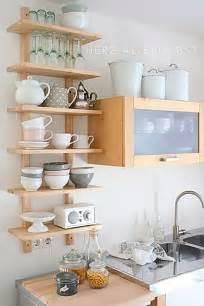 small kitchen shelving ideas inspiraci 243 n para cocinas estanter 237 as abiertas cut paste de moda