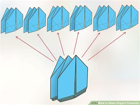 Origami Fireworks - how to make origami fireworks with pictures wikihow