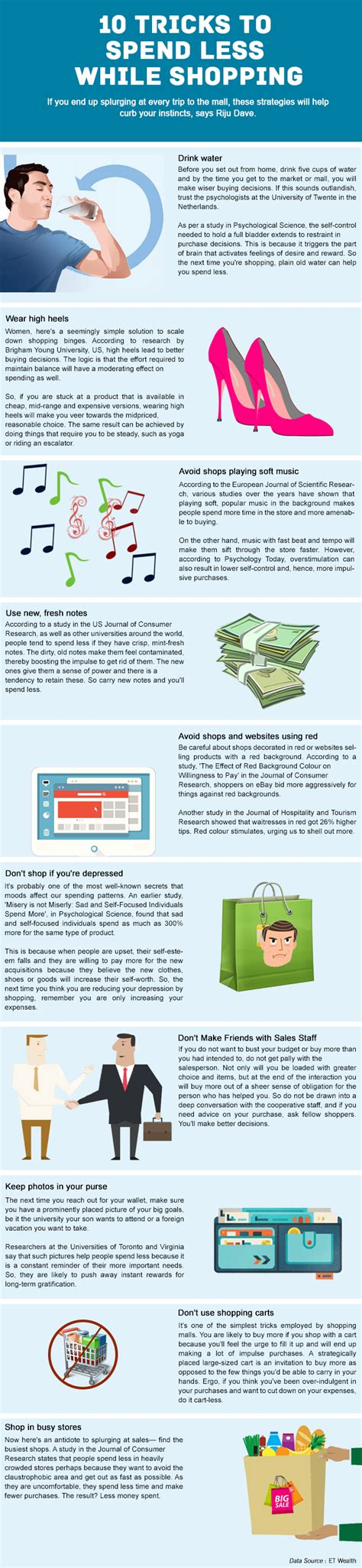 10 Tricks For Less by Tricks To Spend Less Financial Planning Moneyfrog In