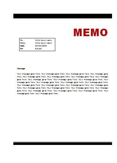 28 sle office memo template 5 office memorandum format