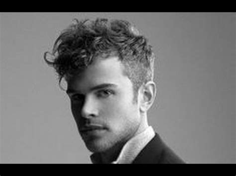 short sides curly top mens hairstyles short sides curly top youtube