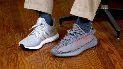 adidas yeezy 350 original vs yeezy 350 v2 vs adidas ultra boost