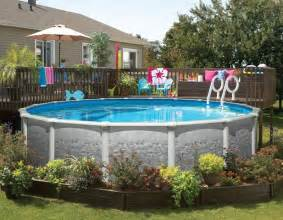 Above ground pools