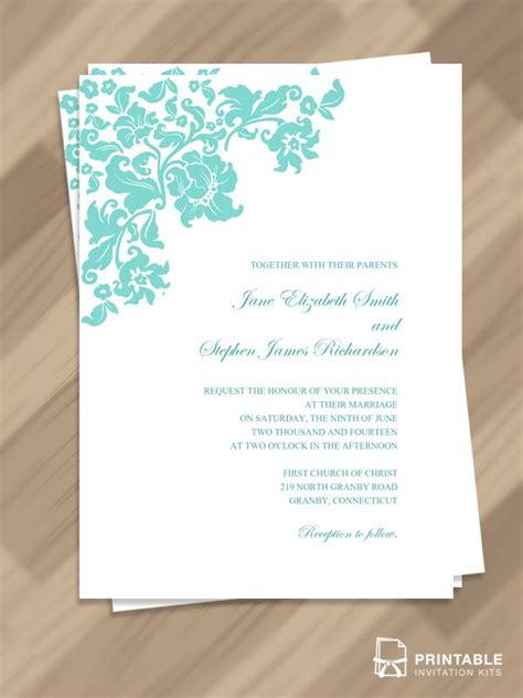 marriage invitation templates free download 208 best