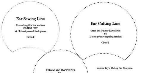 mickey ear template the world s catalog of ideas