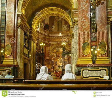 editorial santuario golden interior of santuario della consolata editorial