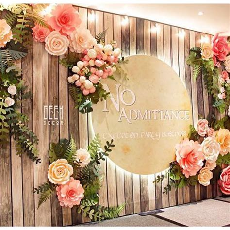 Wedding Backdrop Flowers by Image Result For Rustic Paper Flower Backdrop Backdrops