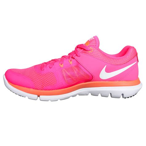 nike pink running shoes womens nike flex run s shoes pink