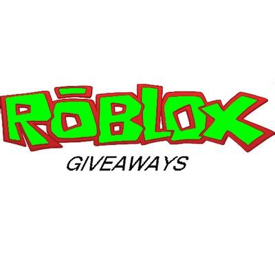 Twitter Giveaway - roblox giveaways rblxgiveaway twitter