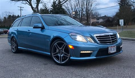 mercedes e63 amg wagon for sale 2012 mercedes e63 amg wagon for sale on bat auctions