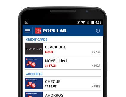 banco popular banking android app mi banco mobile