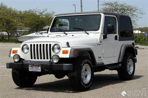 2006 jeep wrangler top 2006 jeep wrangler sport 4wd top a a quality