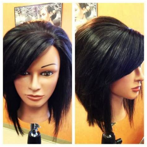 stacked hair longer sides 17 best ideas about long stacked haircuts on pinterest