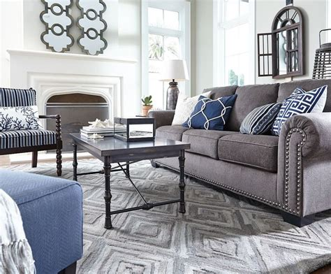 Living Room Decor With Gray Sofa 17 Best Ideas About Grey Sofa Decor On Grey