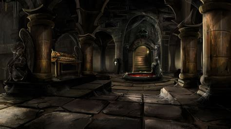 dungeon dark castle background castle interior background mystic wallpaper tomb in an