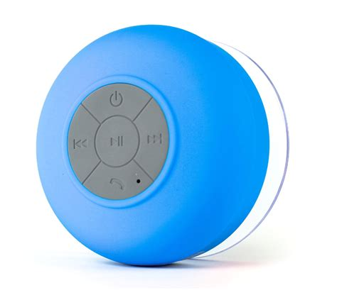 waterproof wireless bluetooth speaker blue