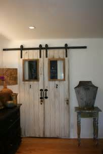 Sliding Barn Doors For Closet Barn Doors For Closets That Present Rustic Outlooks In Unique Details Homesfeed