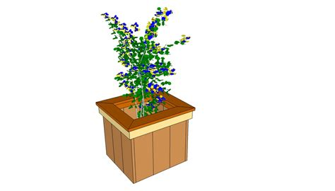 Wooden Planter Plans Free by Free Planter Box Plans Myoutdoorplans Free Woodworking
