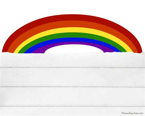 rainbow writing paper printable st s day rainbow paper teaches