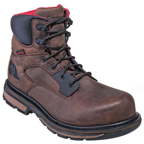 rocky boots coupon rocky boots s rkk0127 waterproof brown 6 inch hauler