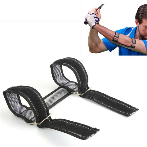 golf swing elbow brace golf swing gesture practice training aids elbow support