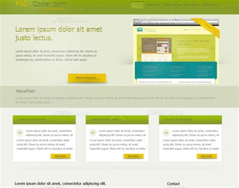 html tutorial web page design photoshop web design layout tutorials from 2010 noupe