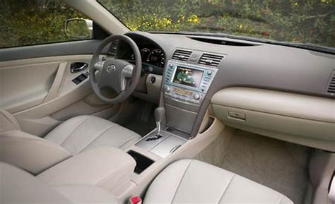 2007 Toyota Camry Interior by Car And Driver