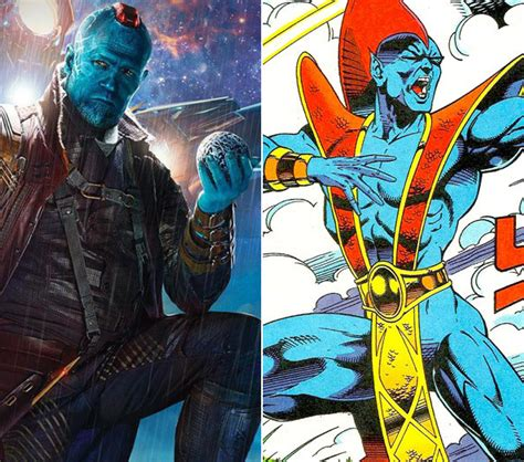 guardians in blue book ii books marvel cinematic universe where does yondu of the