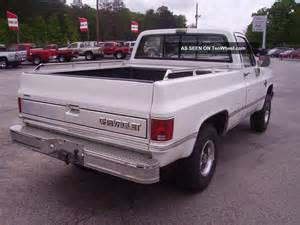 1987 chevy silverado 4x4 5 7 liter fi engine everything