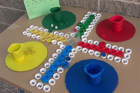 juegos de mesa para ninos parchis con materiales reciclados juegos para ni 241 os