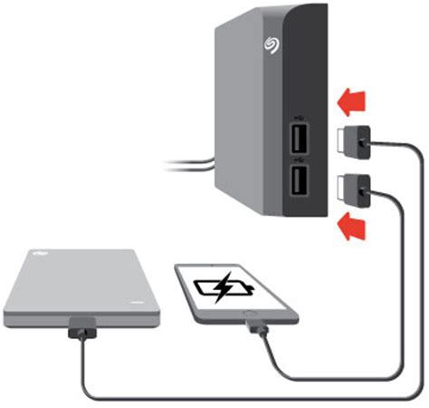 connect usb to seagate backup plus hub user manual connect usb devices